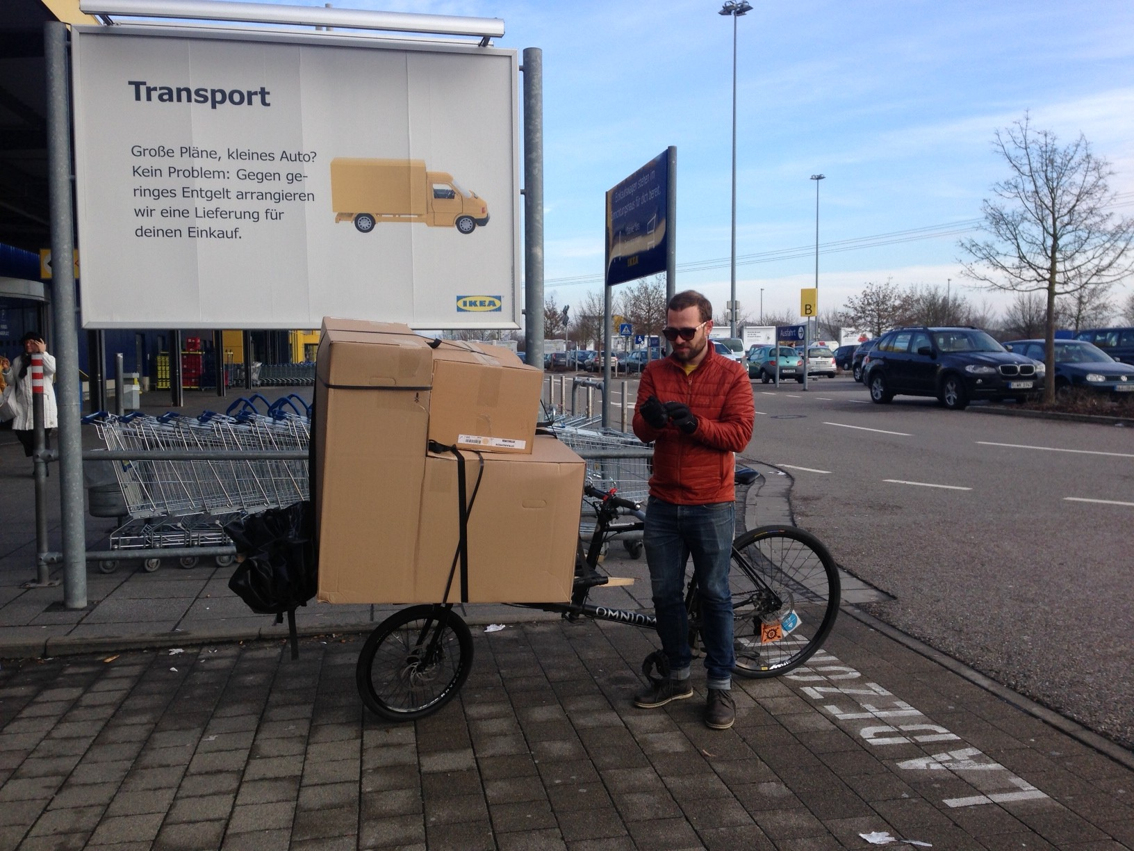no car no problem thanks to the omnium cargobike
