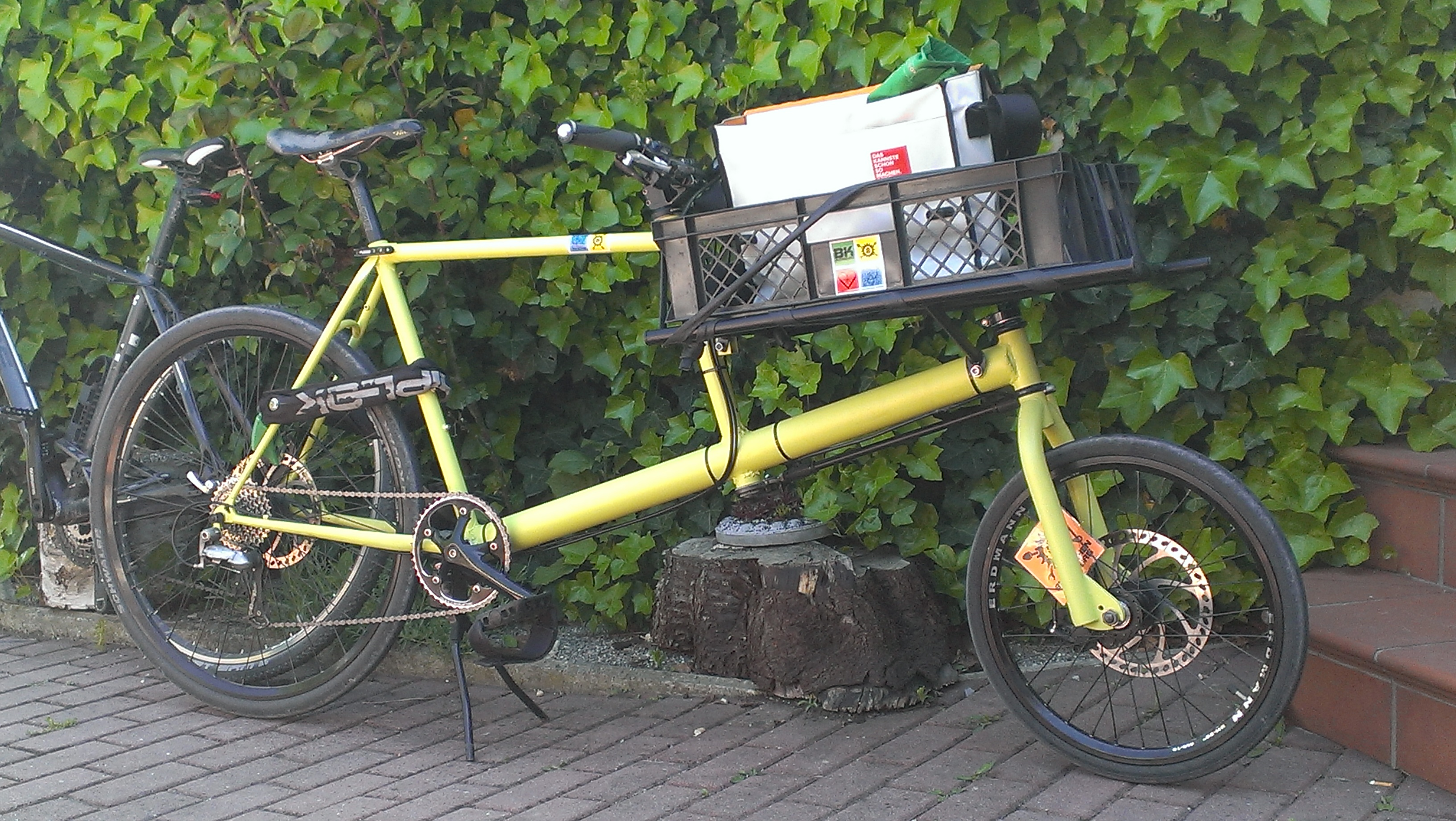 finally: our first cargobike