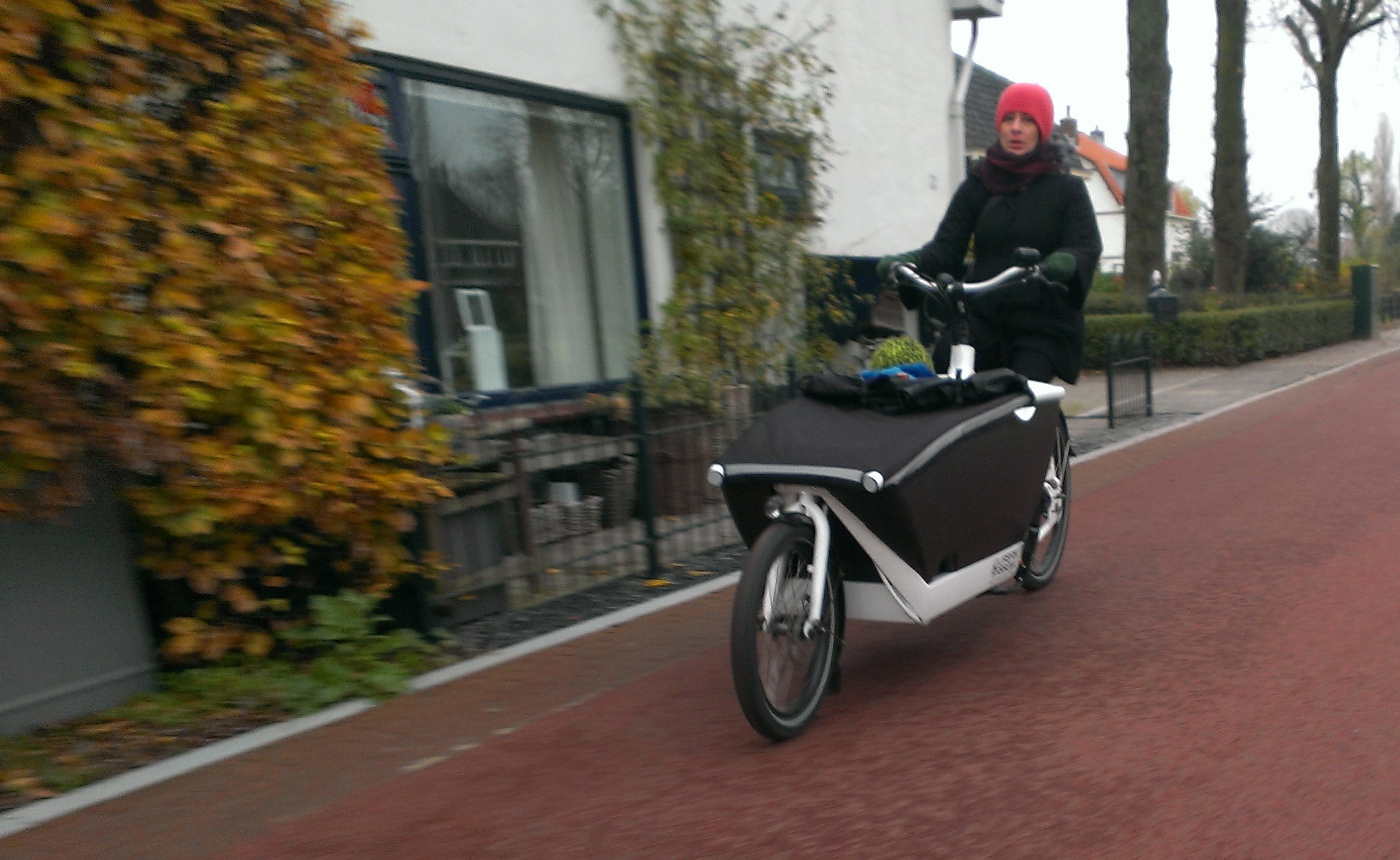 on vacation with the bikes: the urban arrow in the netherlands