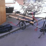 quick enlargement of the rack on the cargobike