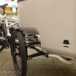 Butchers and bicylce . the tilting cargo bike