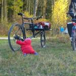 Anouk likes cargobikes