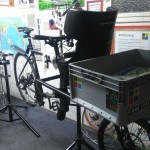 a child seat seat on the Omnium Cargo bike - step10