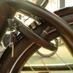 a flexible mounting prevents the lock from wrecking your spokes