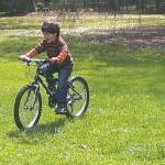 "nicolais first ride on 20"""