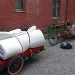 move by bike: big cargobike and trailer