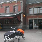 our cargobikes in Holland