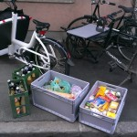 the groceries you can load on only one cargo bike