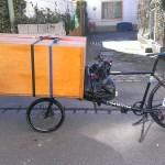 closet on the omnium cargo bike