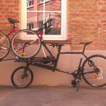 Picking Up an oldskool-Wheeler with the freight bike