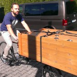 Another big drawer picked up by cargo bike