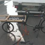 Wooden cargo rack extension