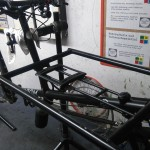 a child seat seat on the Omnium Cargo bike - step9